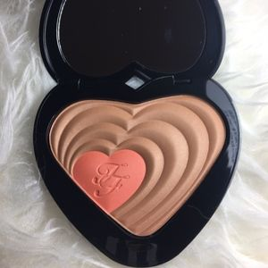 NEW-Too Faced Soul Mates Blushing Bronzer Duo